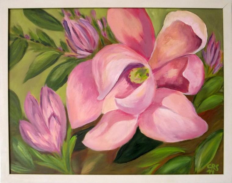 Blommande magnolior (2014)