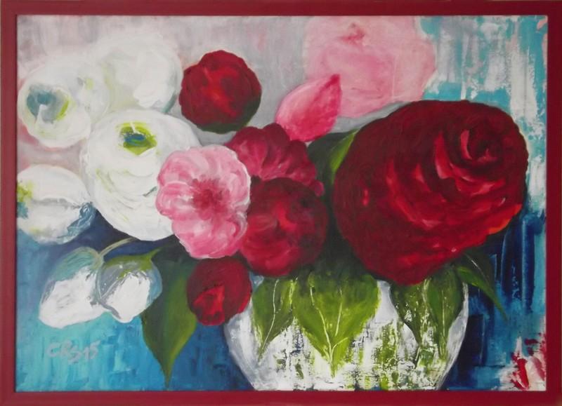Rosen aus den Gärten von Worpswede