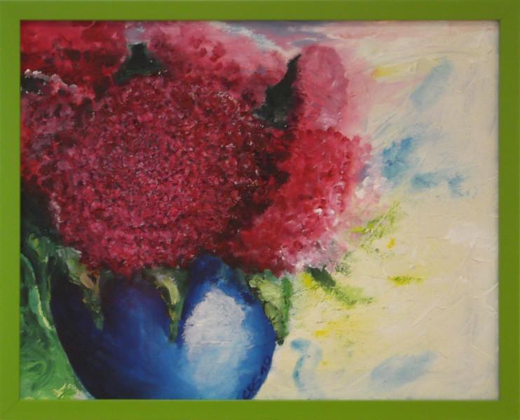 Röd hortensia (2010)